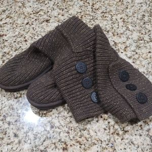 Brand new ugg knit boots